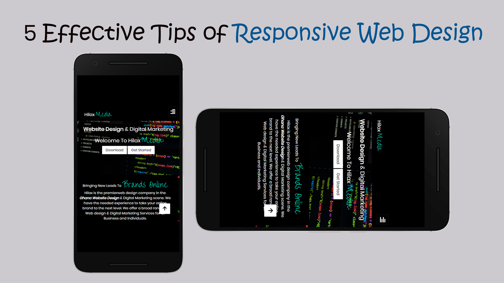 5 Effective Tips Of Responsive Web Design