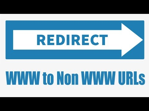redirect www or non www